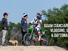 Adam Cianciarulo on: Vlogging, Golf, and Daytona Supercross