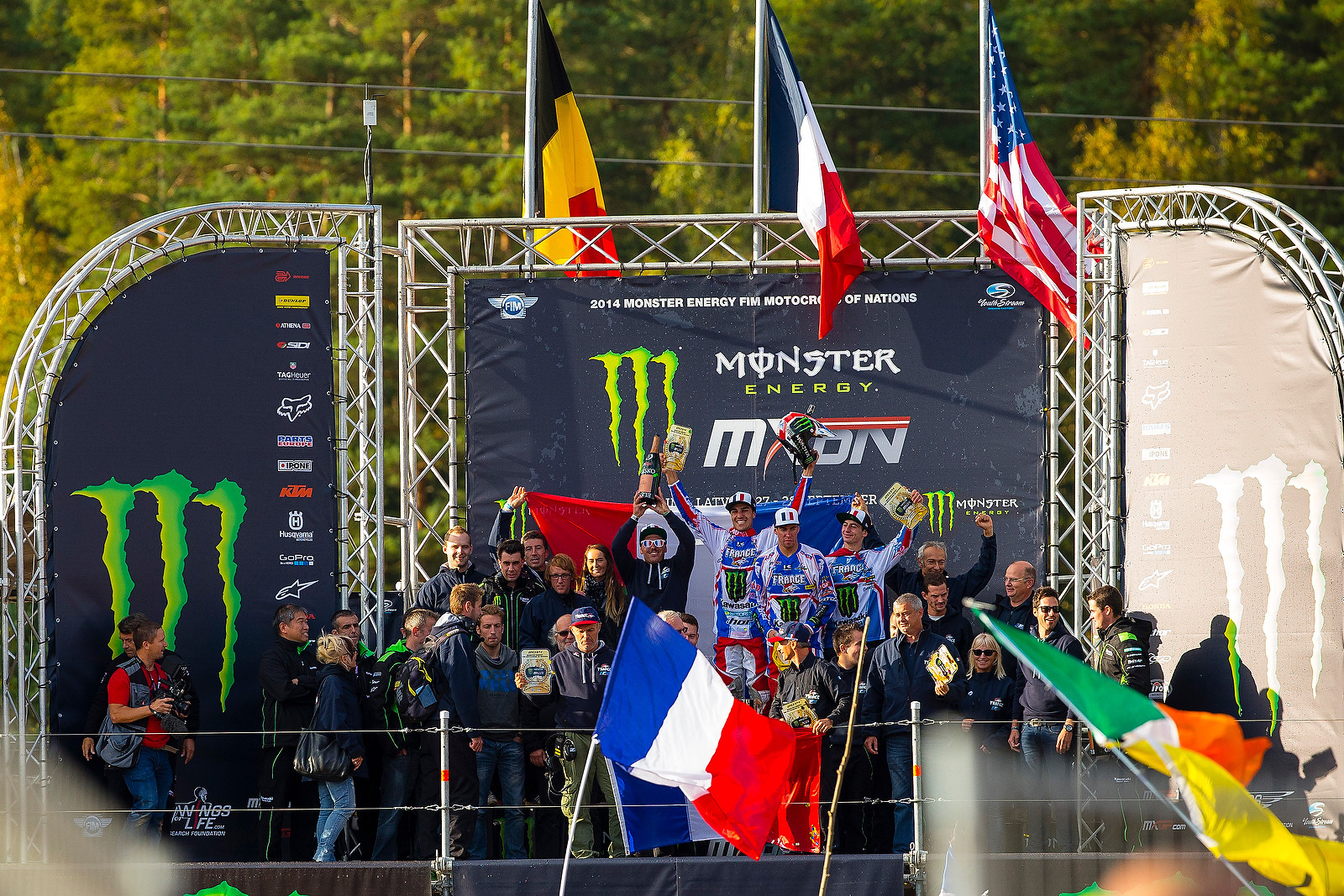 Podium - kardy - Motocross Pictures - Vital MX