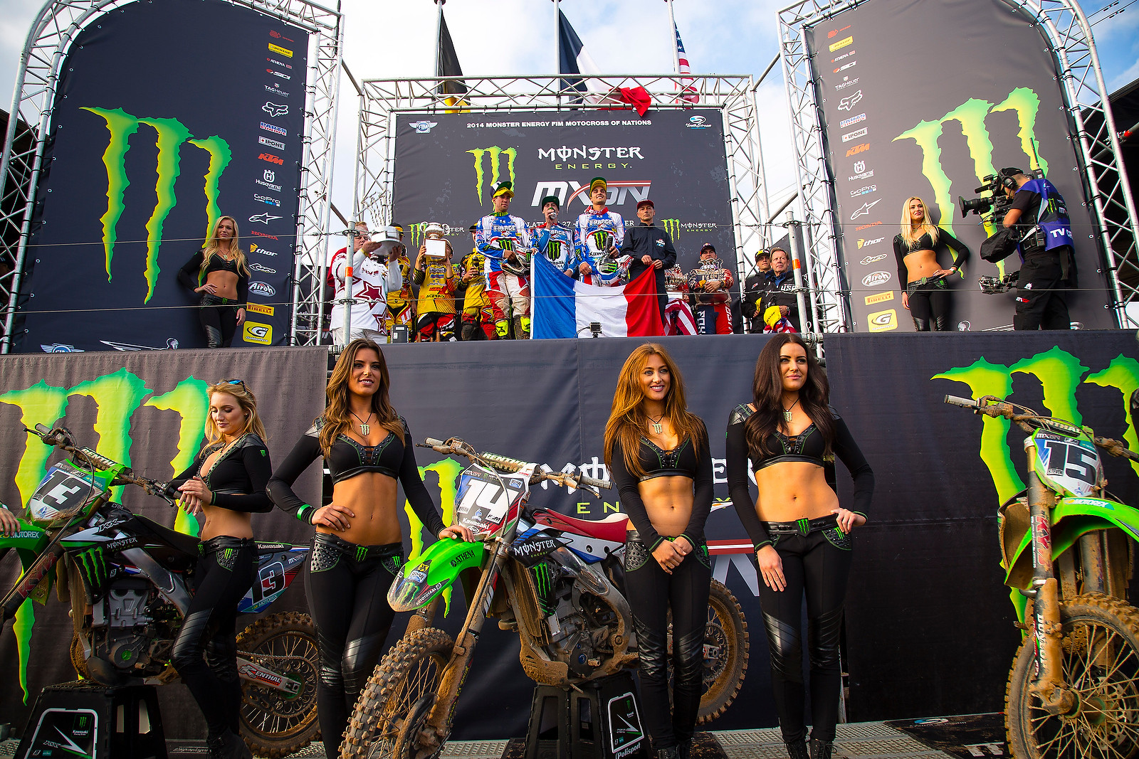 The podium - kardy - Motocross Pictures - Vital MX