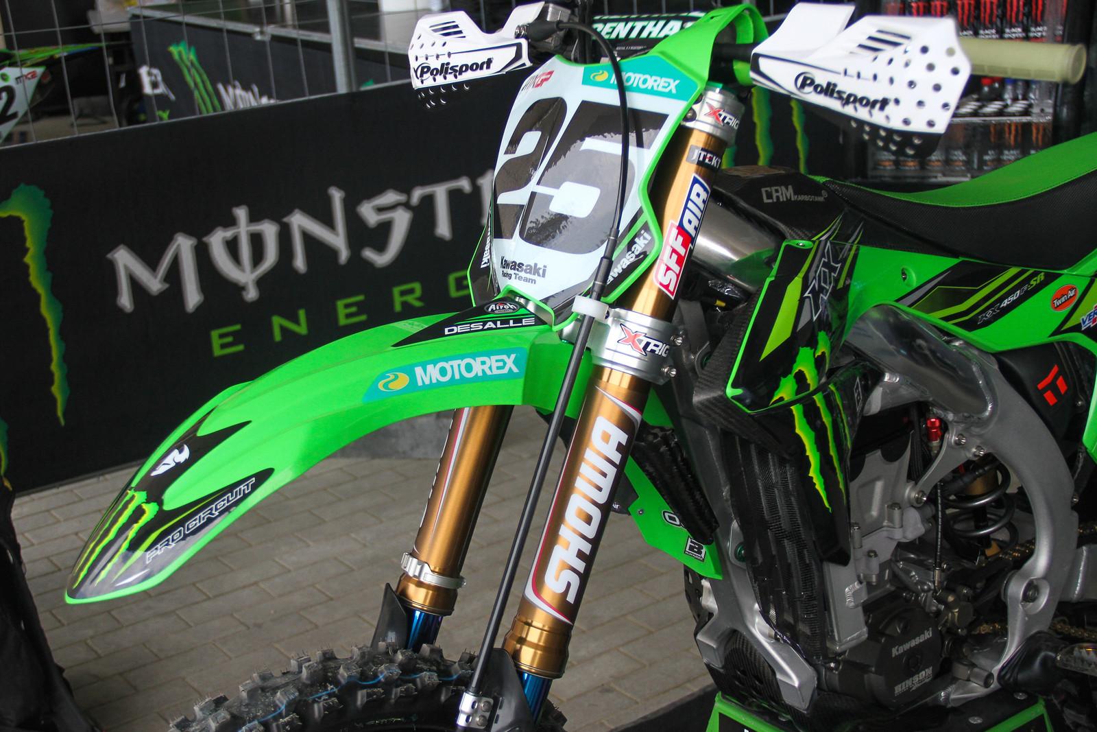 Desalle's Showa Forks - ayearinmx - Motocross Pictures - Vital MX