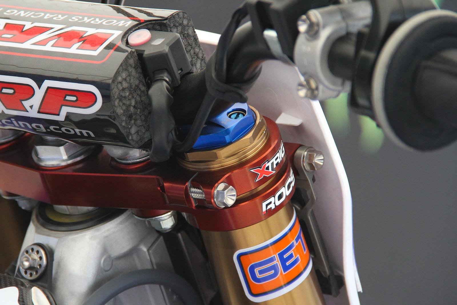 Jeremy van Horebeek Fork Cap - ayearinmx - Motocross Pictures - Vital MX