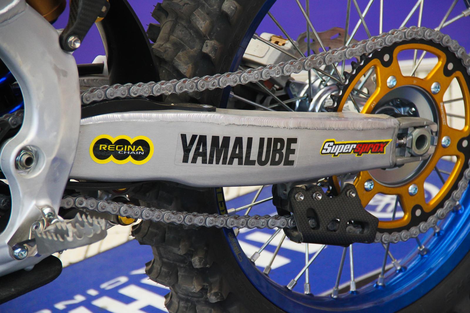 Romain Febvre Swingarm - ayearinmx - Motocross Pictures - Vital MX