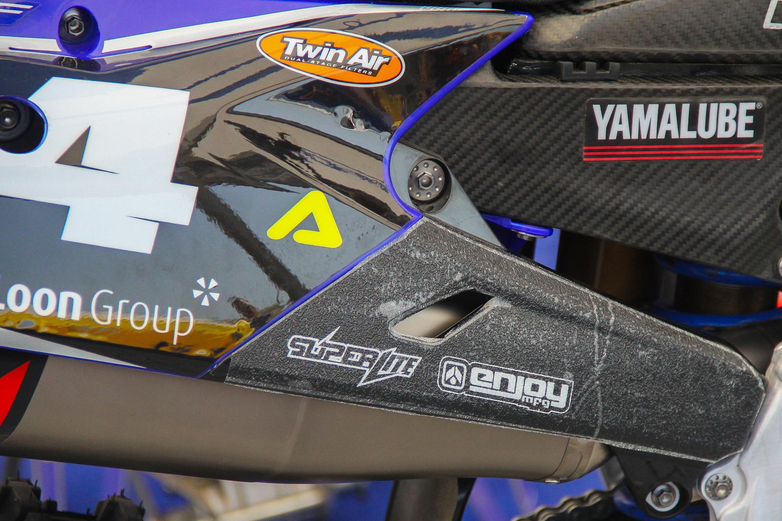Arnaud Tonus Bike Grip - ayearinmx - Motocross Pictures - Vital MX