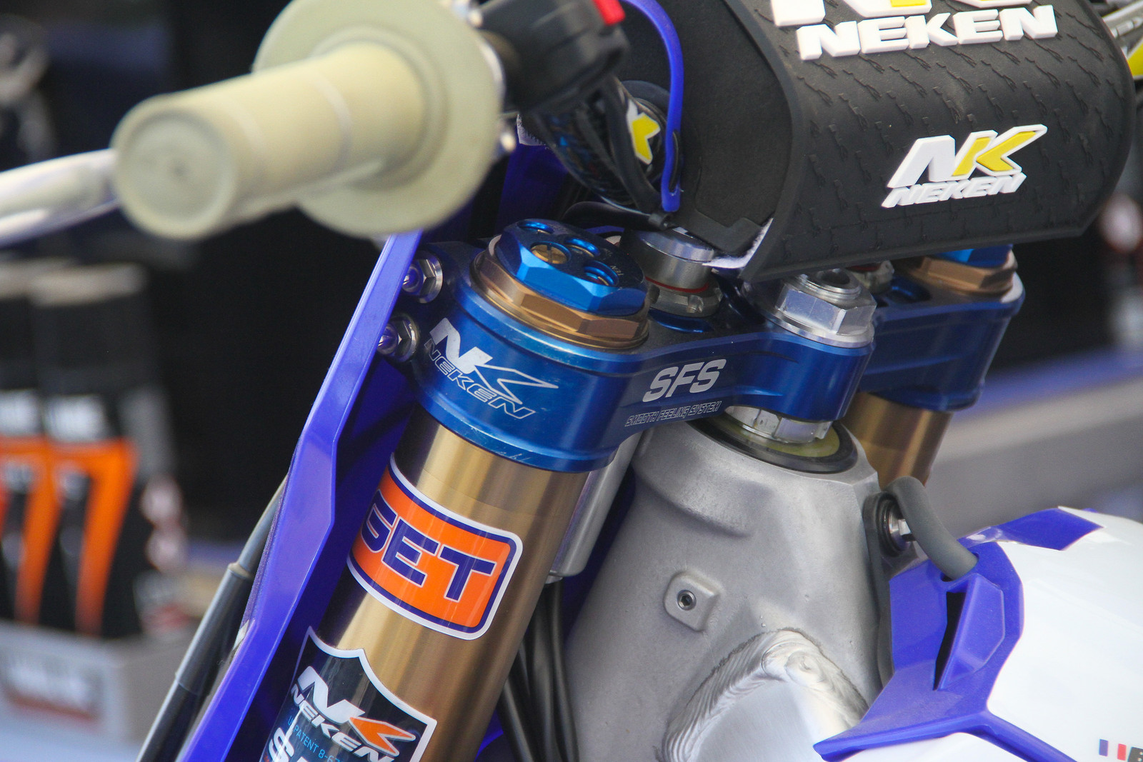 Kemea Yamaha Forks and Triple Clamps - ayearinmx - Motocross Pictures - Vital MX