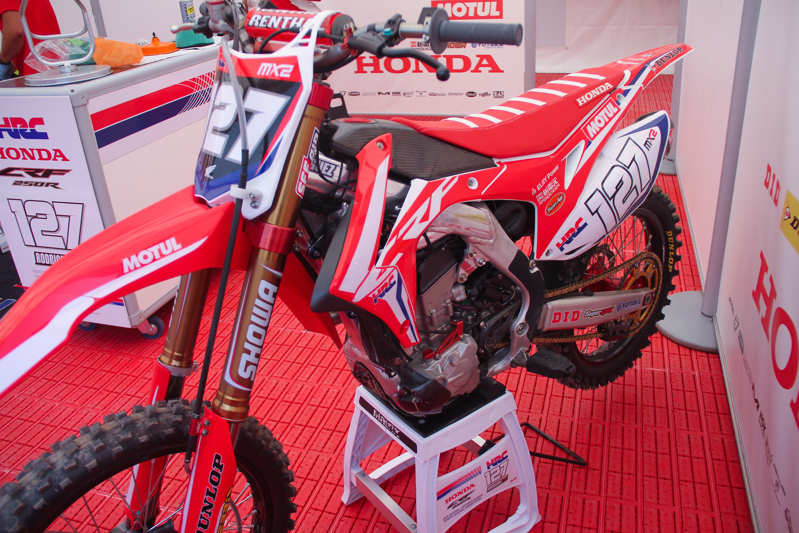 Anthony Rodriguez HRC CRF250R MX2 - ayearinmx - Motocross Pictures - Vital MX