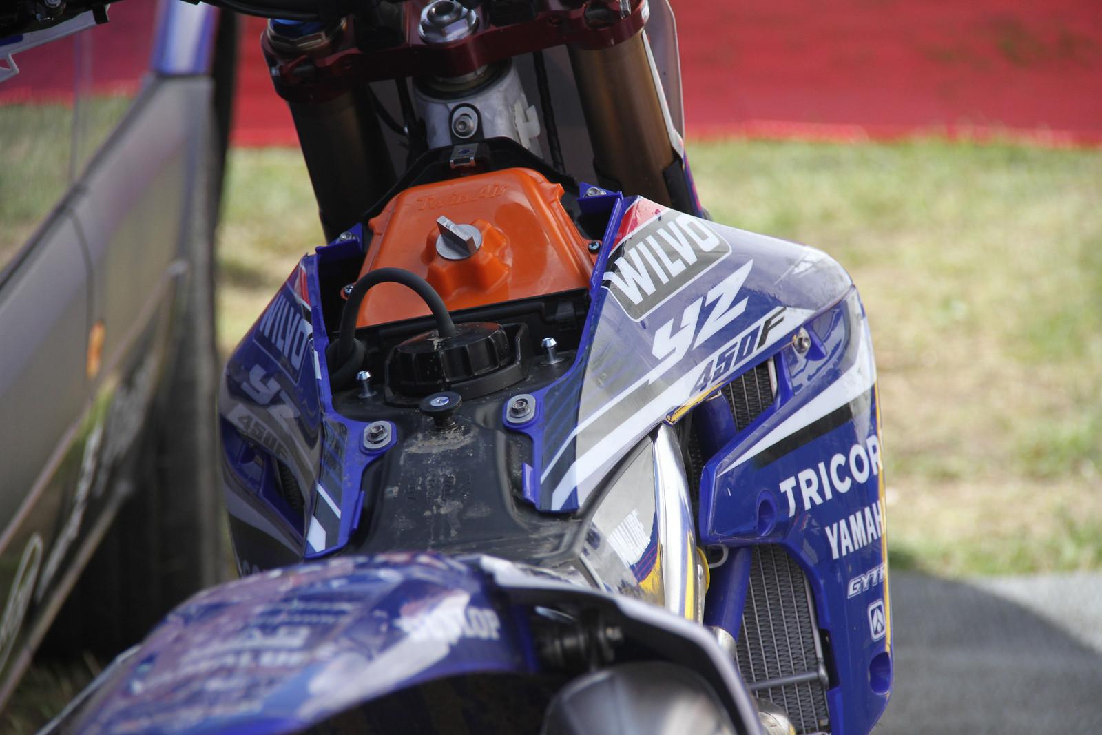 Arnaud Tonus 2018 Yamaha YZ450F - ayearinmx - Motocross Pictures - Vital MX