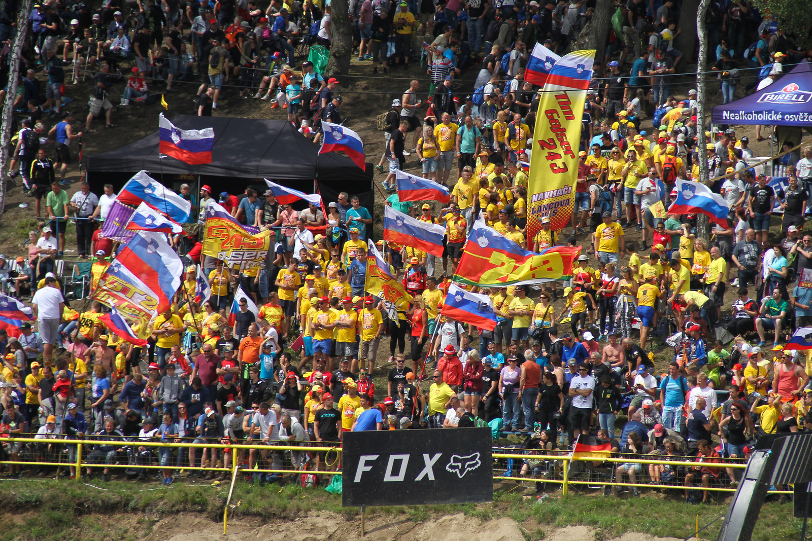 Slovenia Fans - ayearinmx - Motocross Pictures - Vital MX