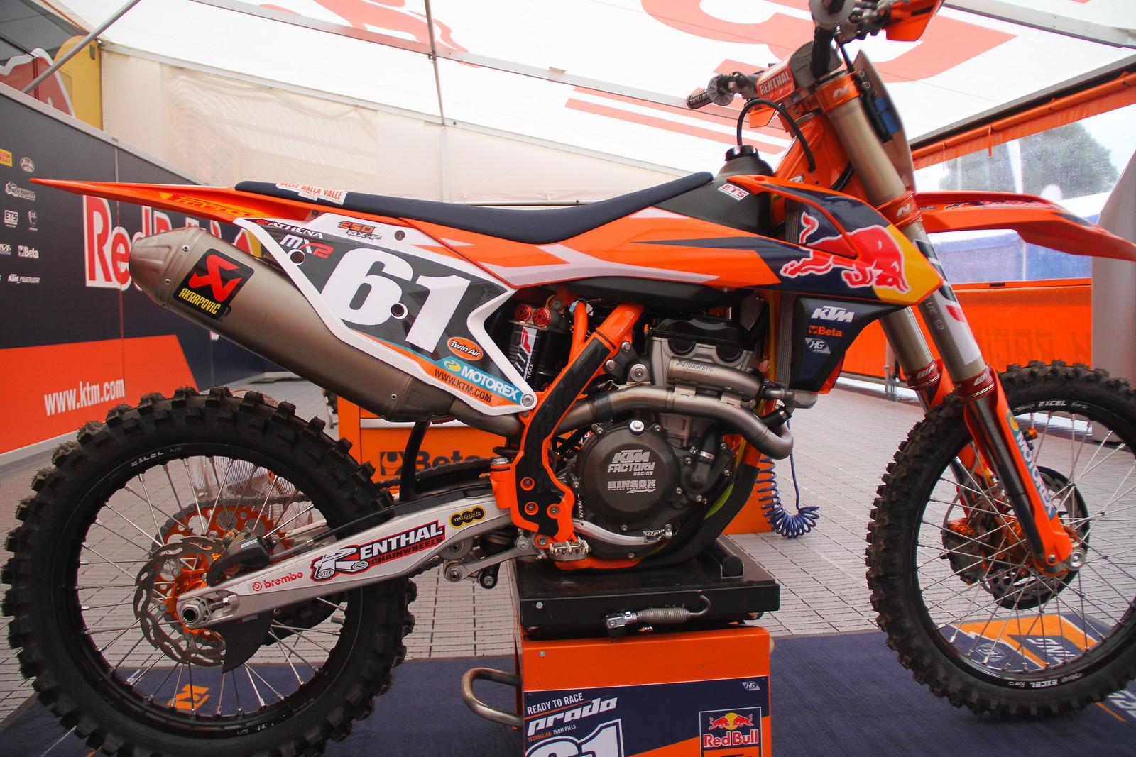 Jorge Prado's Bike - ayearinmx - Motocross Pictures - Vital MX