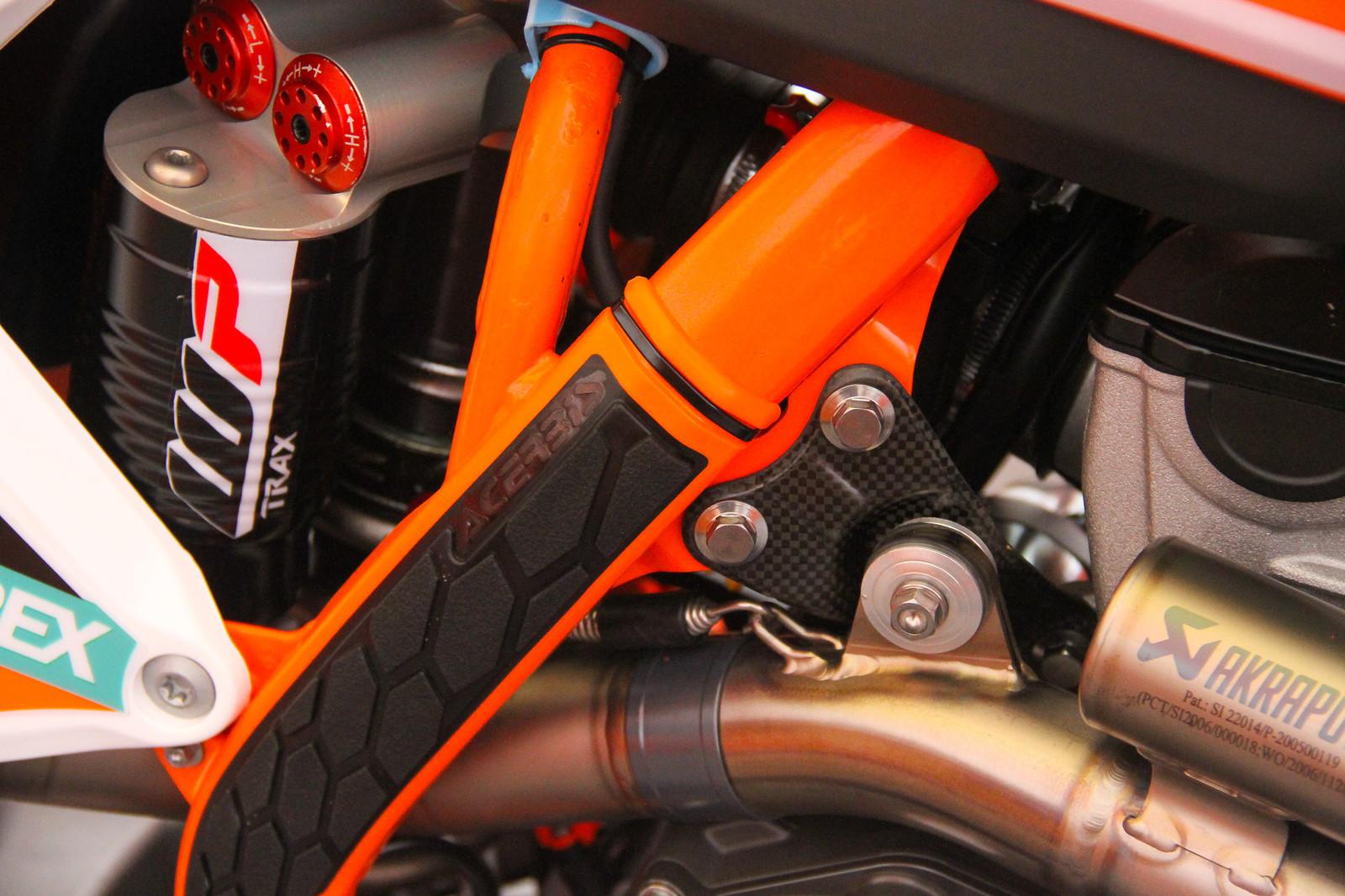 Pauls Jonass' Bike Carbon Fibre - ayearinmx - Motocross Pictures - Vital MX