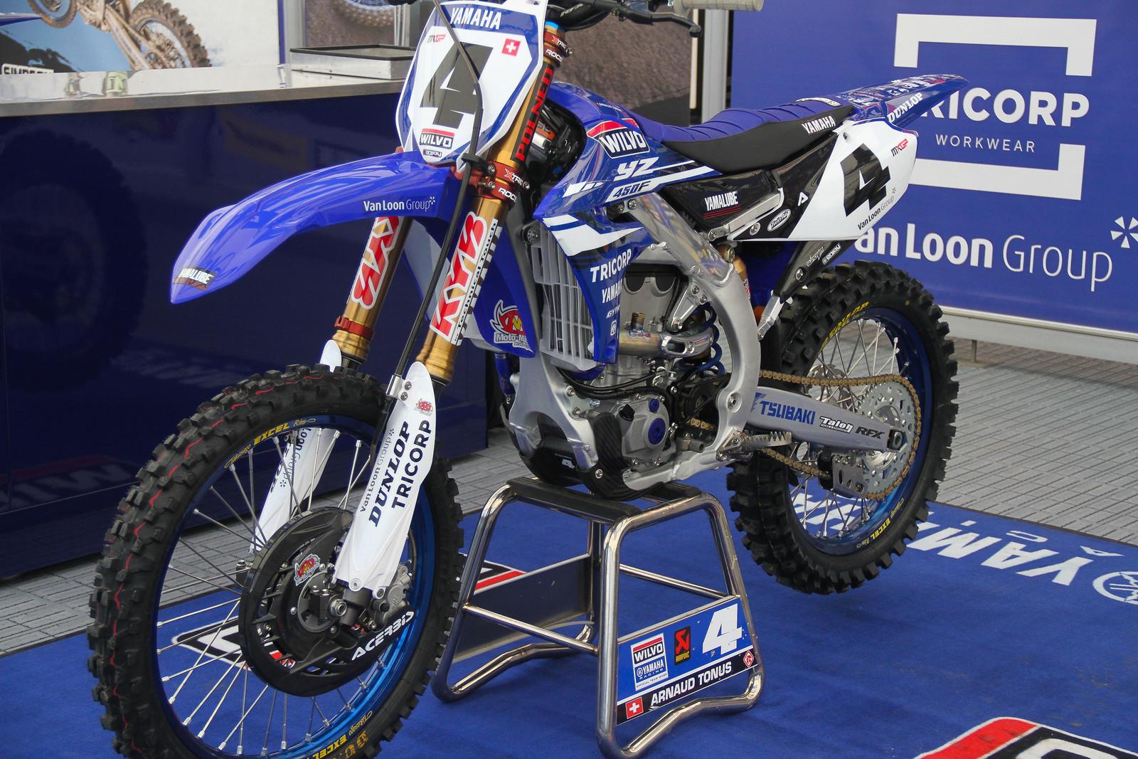 Arnaud Tonus 2018 WILVO Yamaha YZ450F - ayearinmx - Motocross Pictures - Vital MX