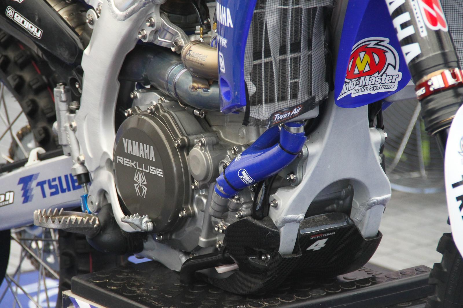 Arnaud Tonus' WILVO Yamaha YZ450F - ayearinmx - Motocross Pictures - Vital MX