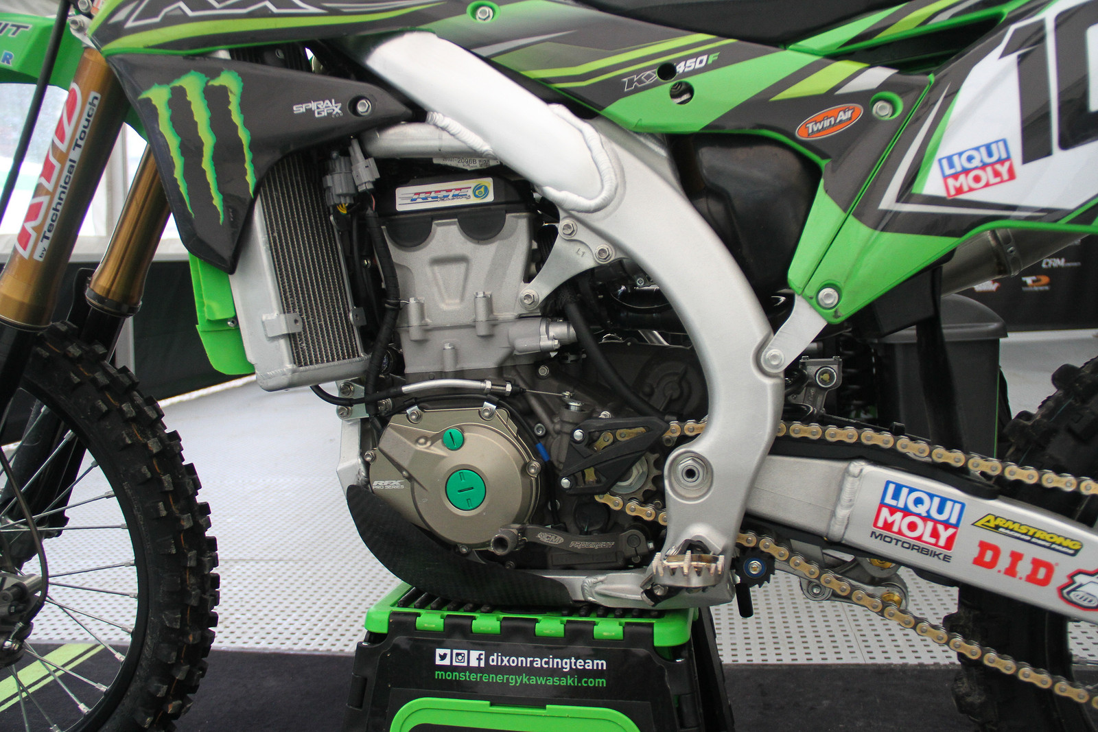Tommy Searle DRT Kawasaki KX450F - ayearinmx - Motocross Pictures - Vital MX