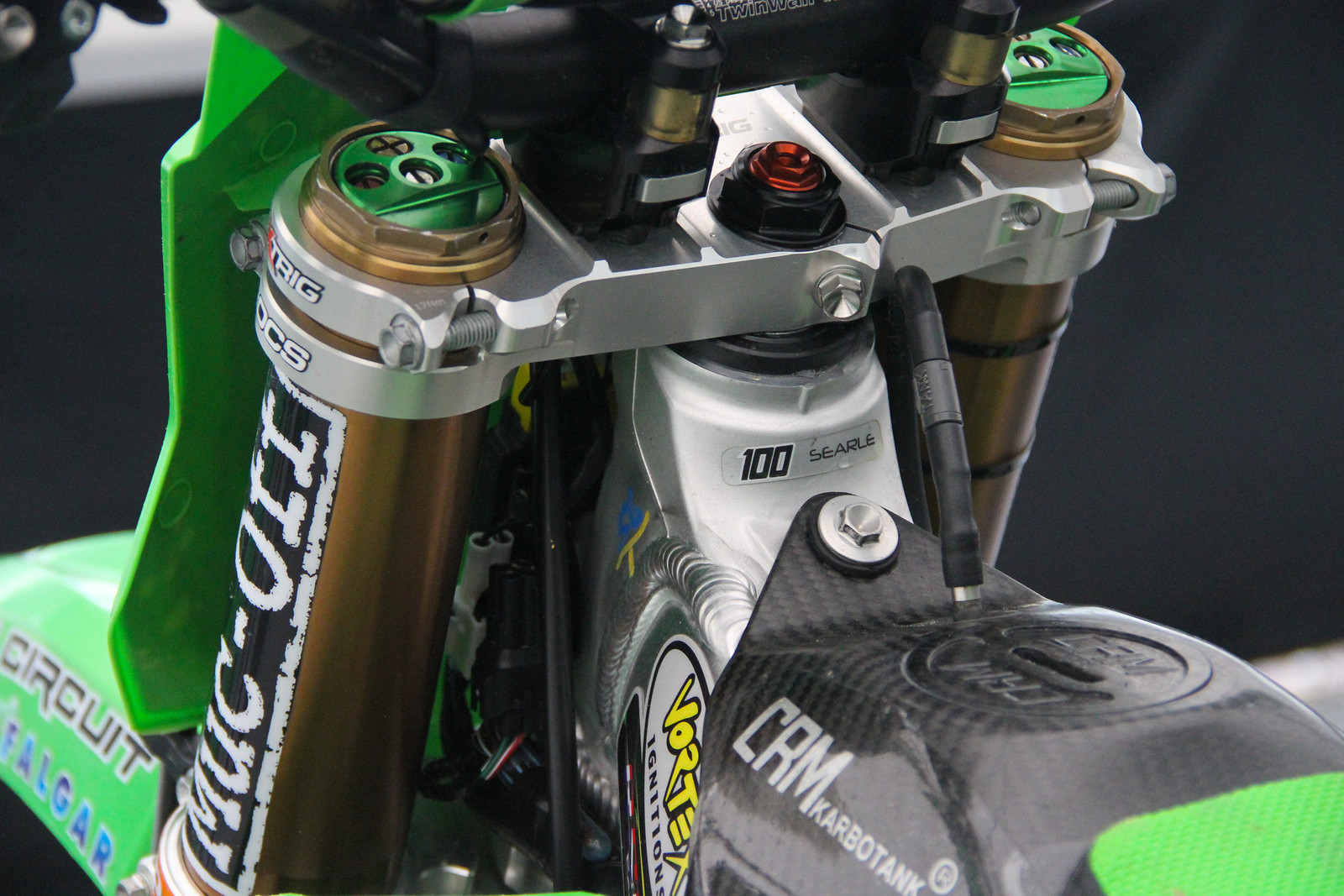 Tommy Searle KYB Forks - ayearinmx - Motocross Pictures - Vital MX