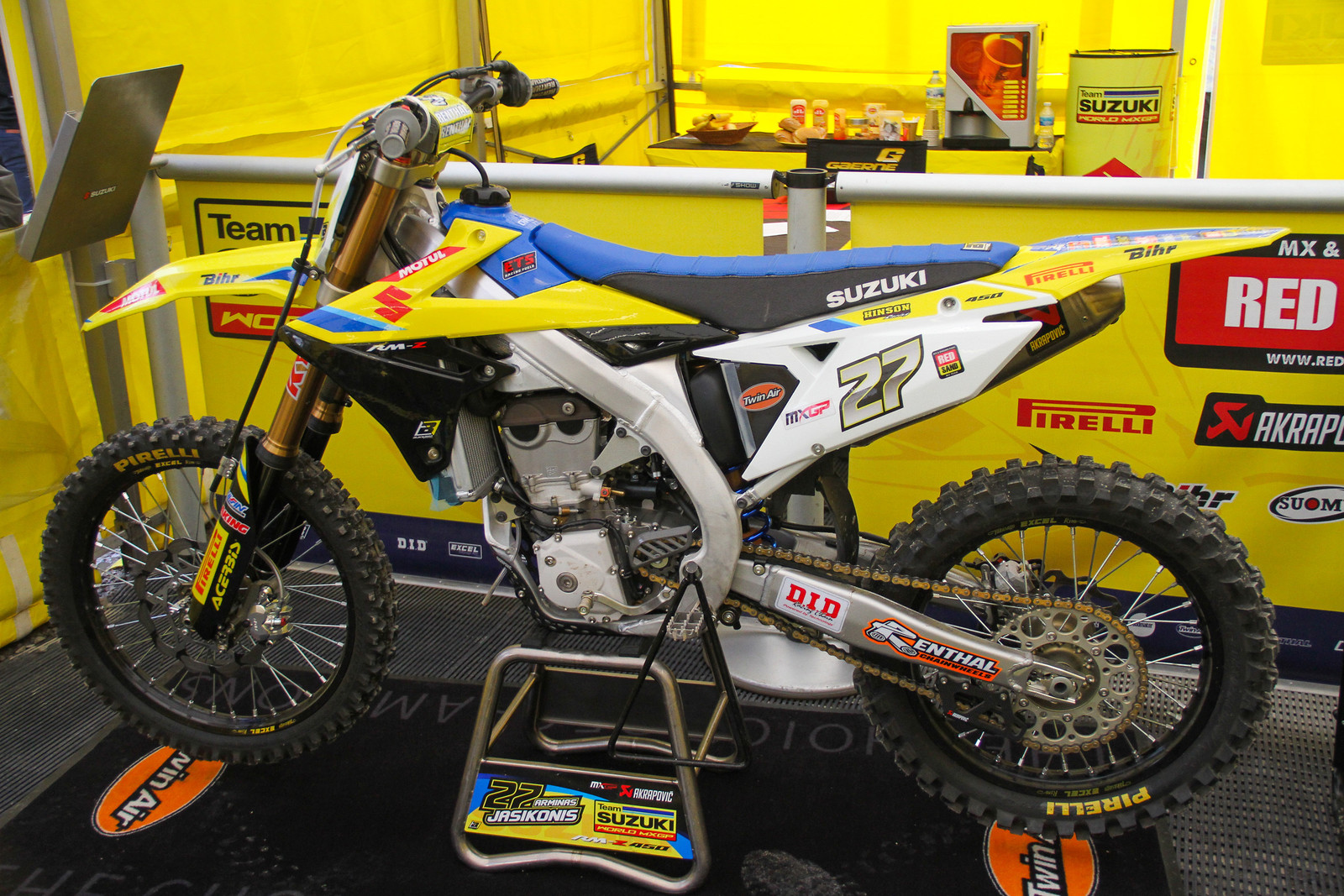 Arminas Jasikonis Bike - ayearinmx - Motocross Pictures - Vital MX