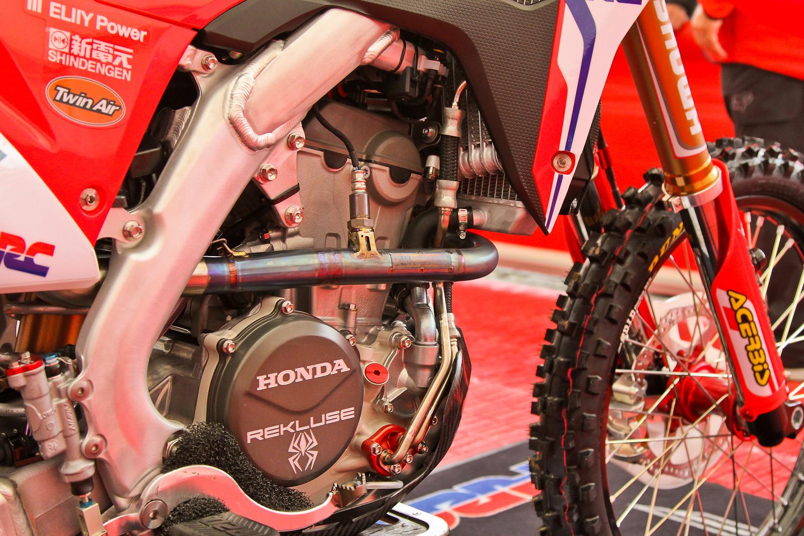 2018 Honda CRF250RW - Engine Right Side - ayearinmx - Motocross Pictures - Vital MX