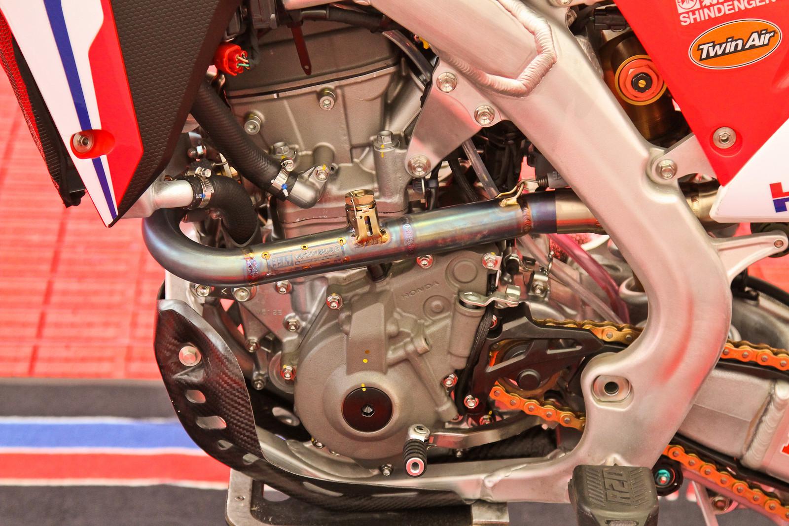 2018 Honda CRF250RW - Engine Left Side - ayearinmx - Motocross Pictures - Vital MX