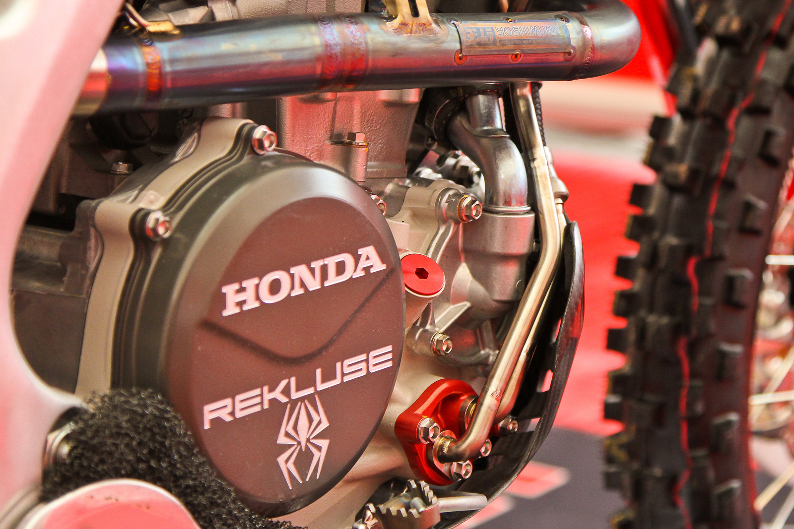 2018 Honda CRF250RW - Oil Cooler - ayearinmx - Motocross Pictures - Vital MX