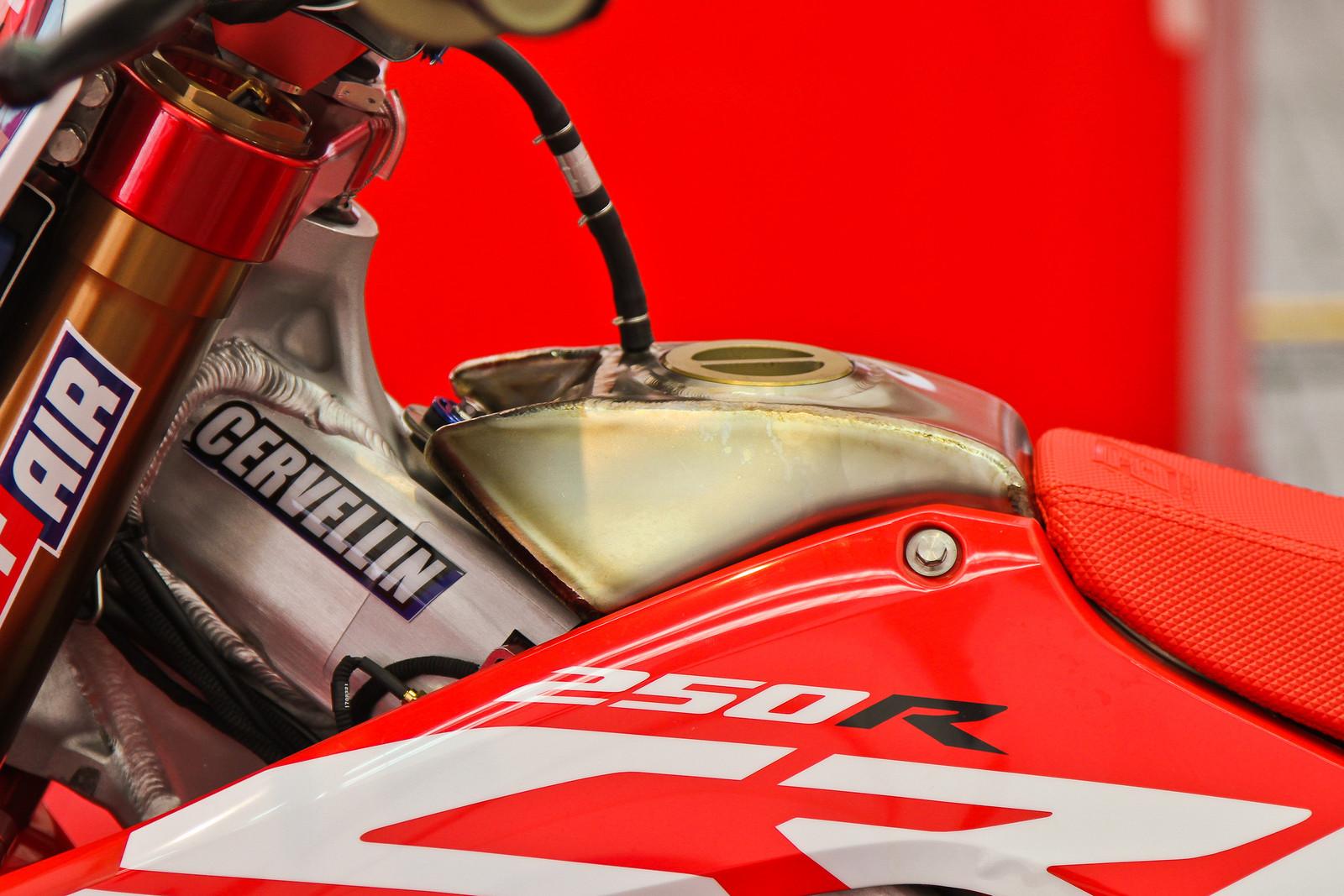 2018 Honda CRF250RW - Titanium Fuel Tank - ayearinmx - Motocross Pictures - Vital MX