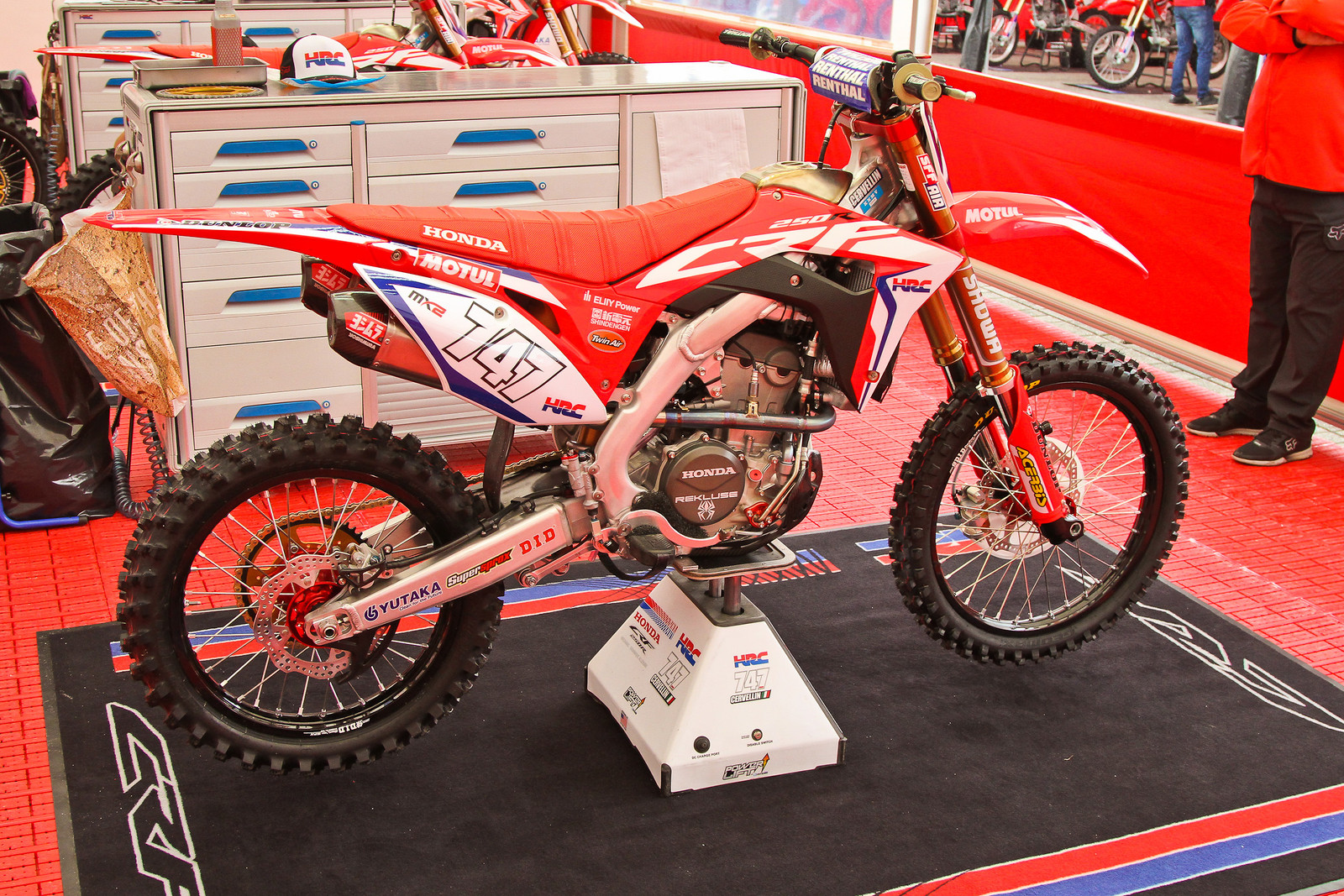2018 Honda CR250RW - Right Side - ayearinmx - Motocross Pictures - Vital MX