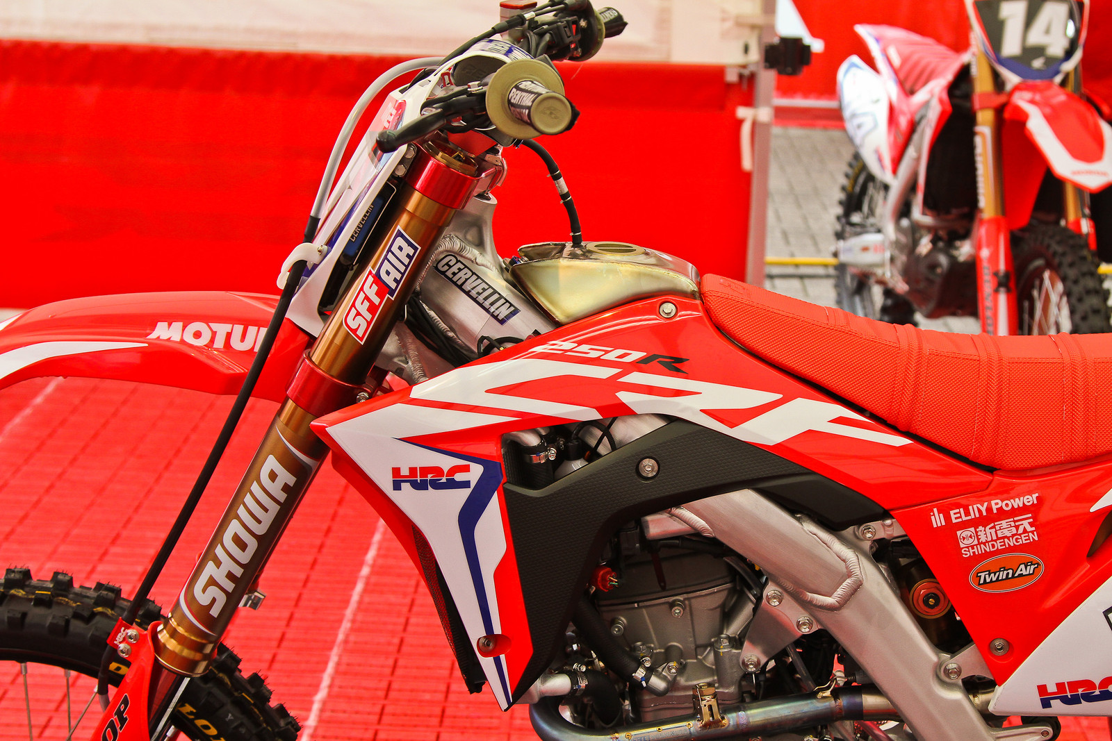 2018 Honda CRF250RW - Showa SFF TAC Air Forks - ayearinmx - Motocross Pictures - Vital MX