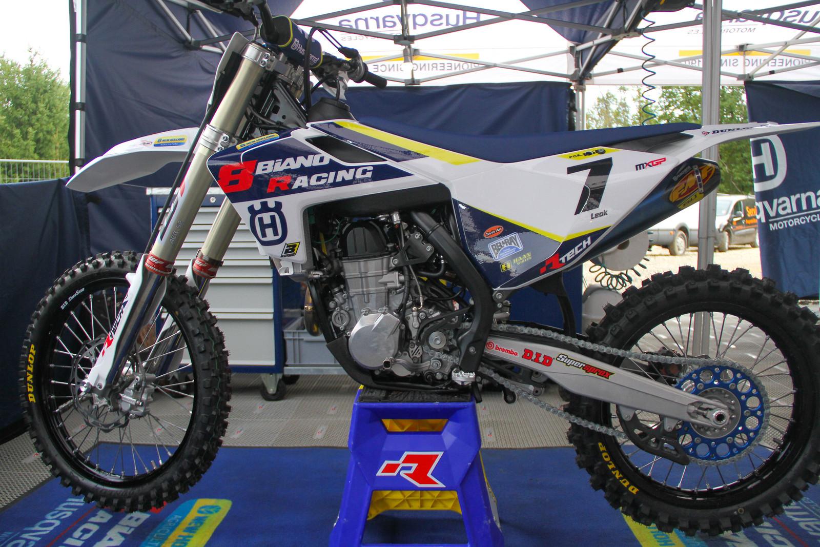 Tanel Leok's Bike - ayearinmx - Motocross Pictures - Vital MX