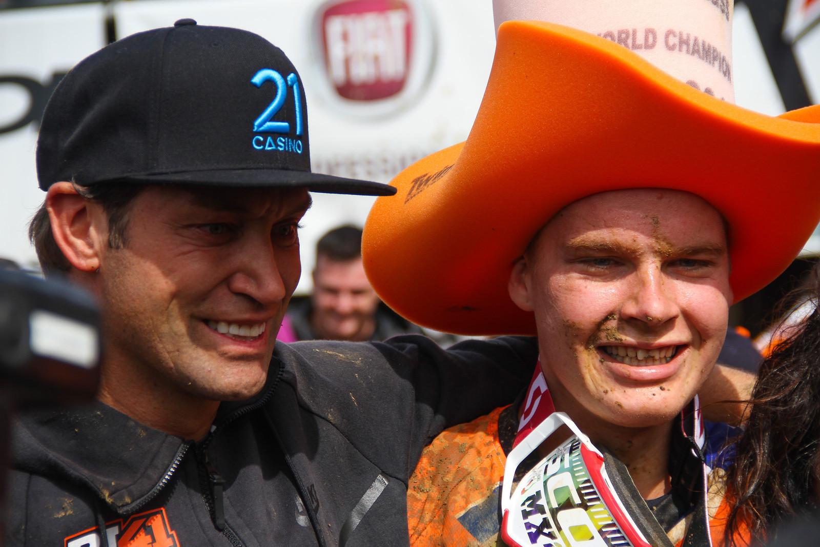 Marc de Reuver & Pauls Jonass - ayearinmx - Motocross Pictures - Vital MX