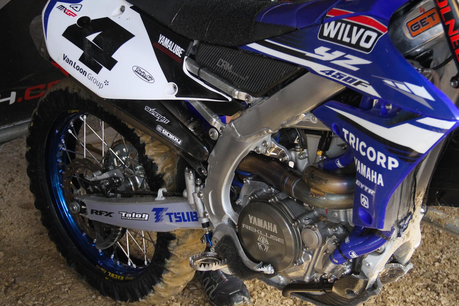 Arnaud Tonus' Bike - ayearinmx - Motocross Pictures - Vital MX