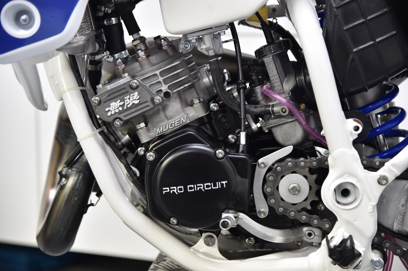 #22 1992 Peak Pro Circuit CR125