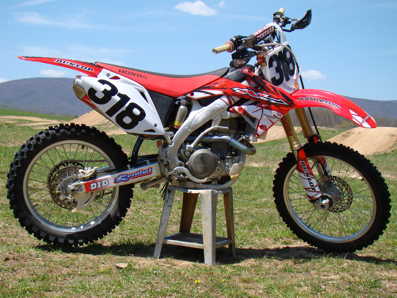 07' CRF - MxPro318 - Motocross Pictures - Vital MX