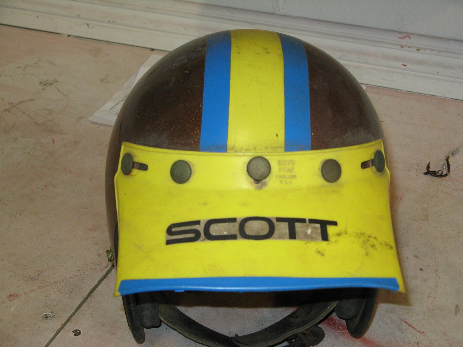 Bruce Bunch-First Helmet - Webcokid - Motocross Pictures - Vital MX