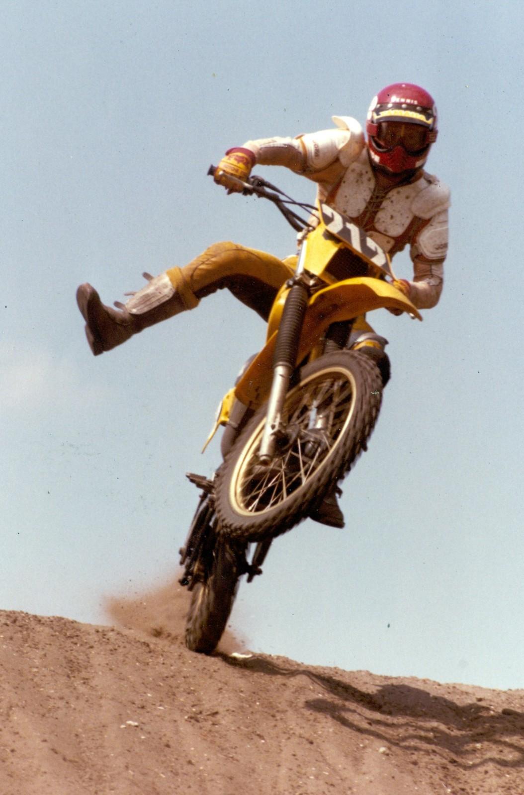 Goofing off during practice - BVS40FL - Motocross Pictures - Vital MX