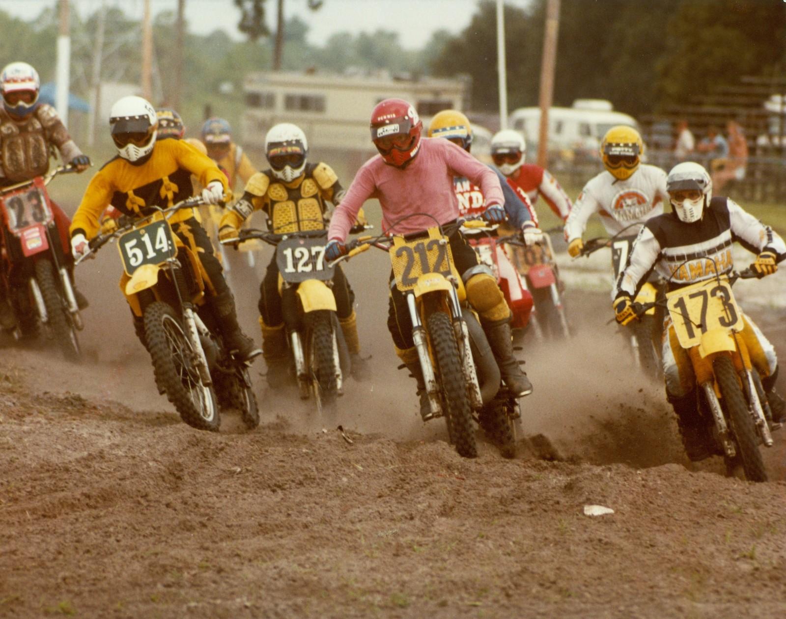 Cocoa , Brevard County Fl. 1982 - BVS40FL - Motocross Pictures - Vital MX