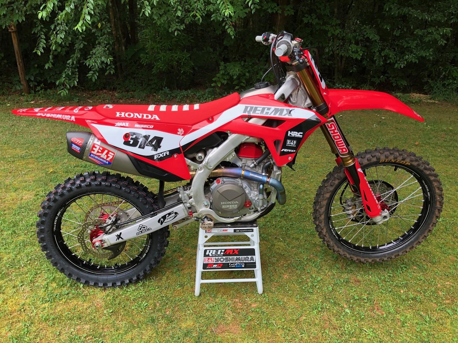 REC MX 2021 CRF450R WE