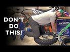 Bib Mousse Install with the Rabaconda Tire Changer | A Comedy of Errors