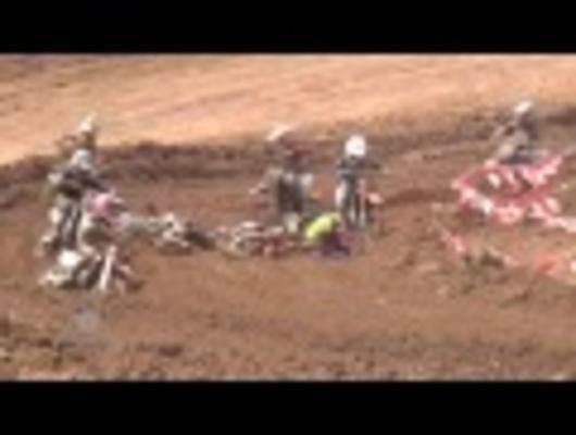 Motocross crashes 2012