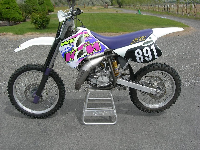 1995 KTM 125 SX - wpark89's Bike Check - Vital MX