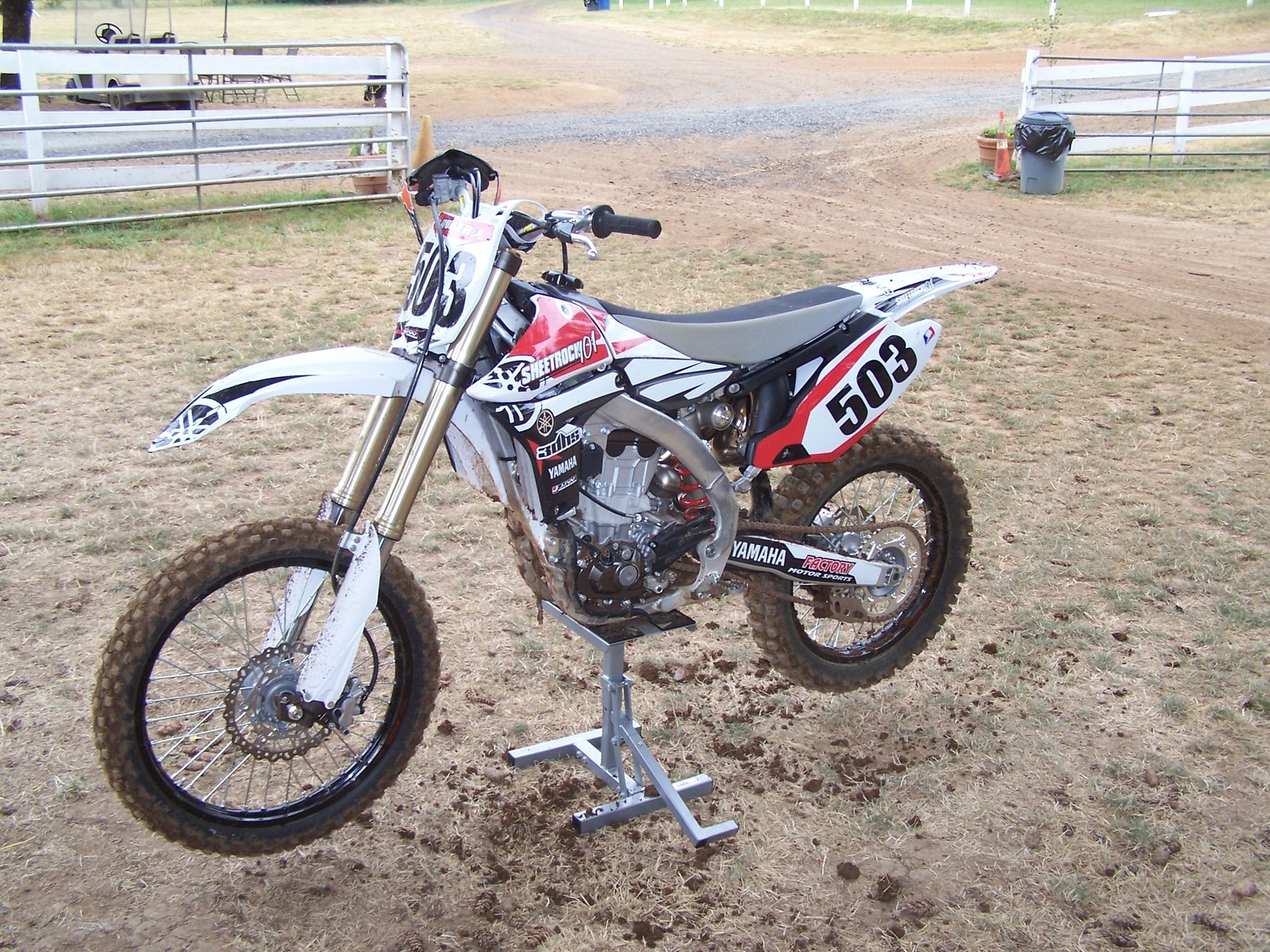 Huber YZ450F 3 - jeffro503 - Motocross Pictures - Vital MX