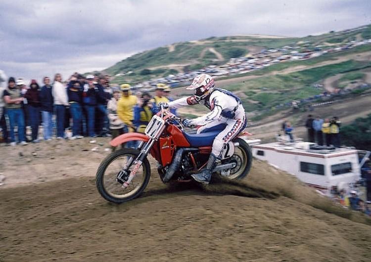Bob 1983 Saddleback crop 750 - Stoneface - Motocross Pictures - Vital MX