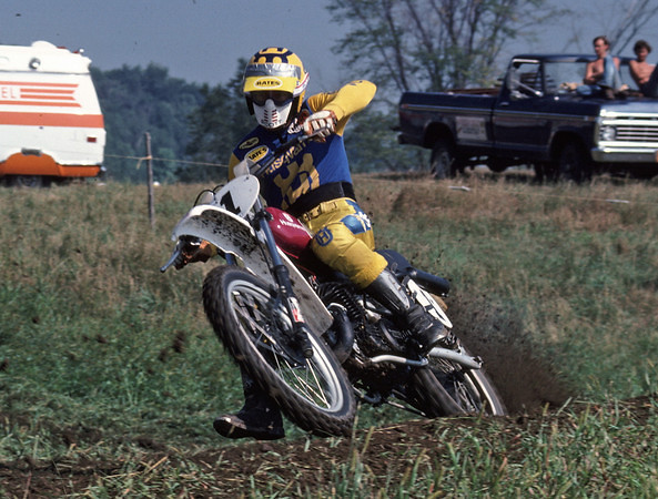 Howerton 1977 - Stoneface - Motocross Pictures - Vital MX