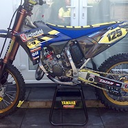 2016 yz125 frame up rebuild....trick coatings....carbon fibre/ti/kashima etc...