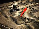 2012 Anaheim 1 Supercross Animated Track Map