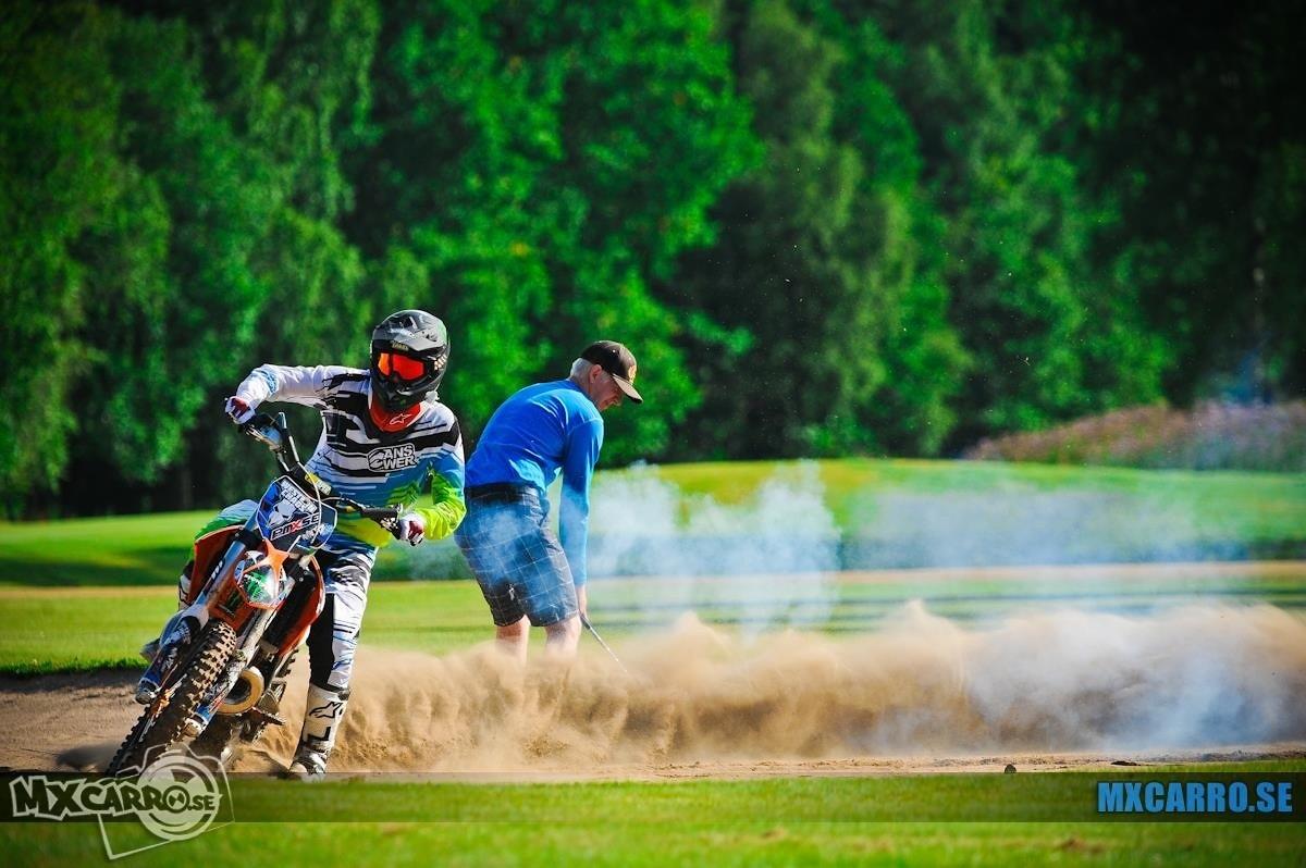 Motocross on golf course in Sweden - mxcarro - Motocross Pictures - Vital MX