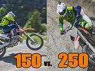 2016 KTM 150 vs 2016 KTM 250 SX-F SHOOTOUT