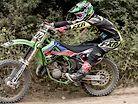 Totally Awesome Two Stroke MX Shredding on 2001 KX 125