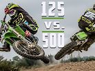 Which is Faster?? 1995 KX500 vs 2001 KX125 | MOTOCROSS
