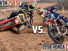 Ultimate 2 Stroke Battle: 1998 Honda CR500 vs 2020 KTM 250 SX | ROUND ONE