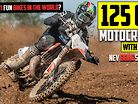 Insane Cable Stretching Moto on 125cc MX Bike! | RAW