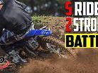 Insane 5 Rider 125cc MX Battle with 360 cam!