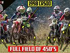 22-Year-Old CR500 Races Modern 450 4 Strokes at National Championship | For The Love of 2 Strokes