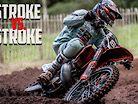 4 Stroke vs 2 Stroke | 250 Two Stroke takes on 250 Four Stroke!